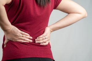 Physiotherapist aids relieve Back pain