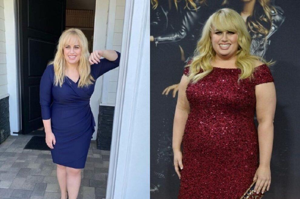 Rebel Wilson's weight transformation