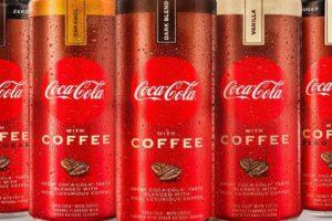 Coca-Cola with coffee and Coca-Cola with coffee zero sugar