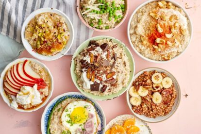 Oatmeal toppings must be healthy