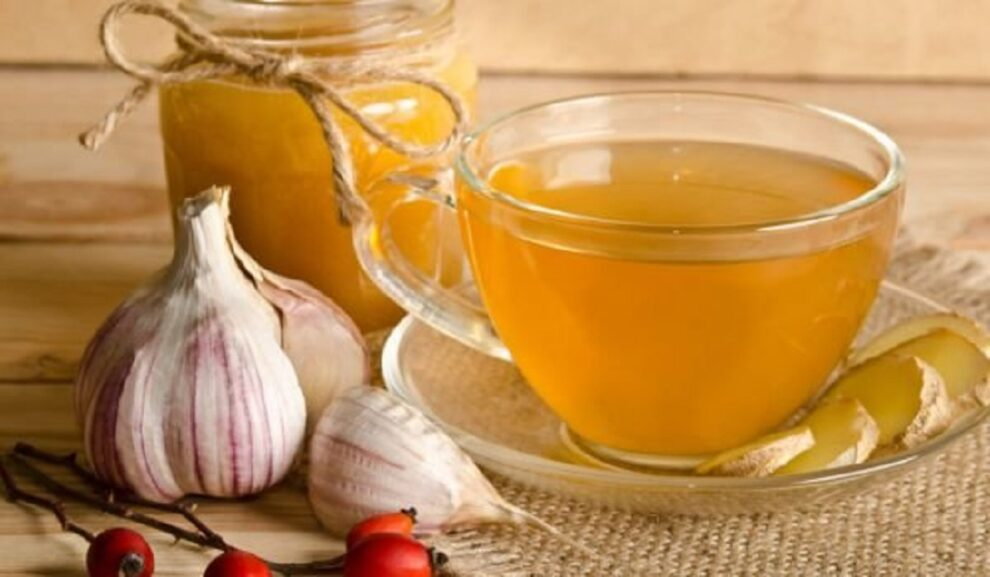 garlic tea for health